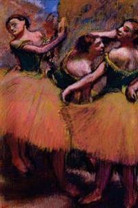 ''Three Dancers Green Blouses'' by Edgar Degas: Journal (Blank / Lined)