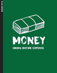 Budget Book: (8.5x11) Large Print - Budgeting Books 365 Days(12 Month) for Personal or Family Large Print with Daily Expense Tracke