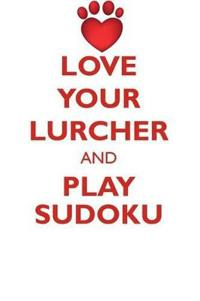 Love Your Lurcher and Play Sudoku Lurcher Sudoku Level 1 of 15