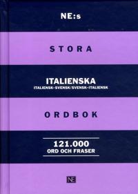 NE:s stora italienska ordbok : italiensk-svensk/svensk-italiensk