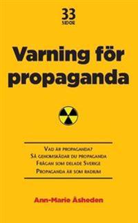 Varning för propaganda