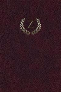 "Monogram ""Z"" Journal: 365 Page Journal Diary Notebook"