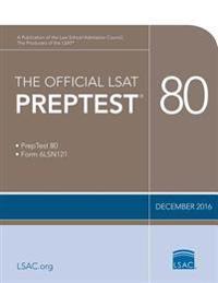 The Official LSAT Preptest 80: Dec. 2016 LSAT
