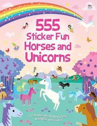 555 Sticker Fun Horses and Unicorns