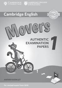 Cambridge English Movers 1 for Revised Exam from 2018 Answer Booklet