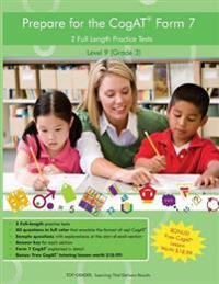 Two Full Length (Colored) Practice Tests for the Cogat Form 7: For Level 9 (Grade 3): For Level 9 (Grade 3)