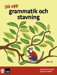 Slå upp grammatik och stavning åk 1-3