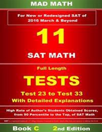 Book C Redesigned SAT Tests 23-33