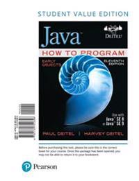 Java How to Program, Early Objects