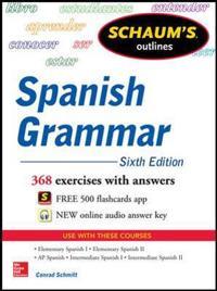 Schaum's Outlines Spanish Grammar