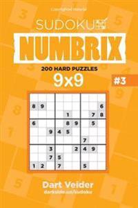 Sudoku - 200 Hard Puzzles 9x9 (Volume 3)