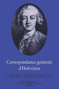 Correspondance G n rale d'Helv tius
