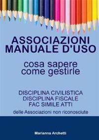 Associazioni: Manuale D'uso