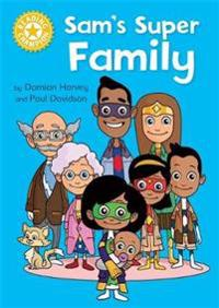 Reading champion: sams super family - independent reading yellow