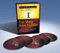Tre steg från guldet - Ljudbok