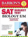 Barron's SAT Subject Test Biology E/M with Online Tests
