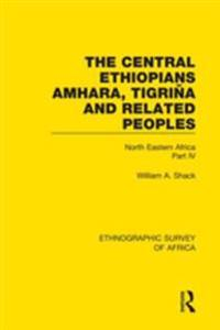 Central Ethiopians, Amhara, Tigrina and Related Peoples