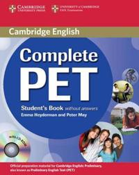 Complete PET Student's Book