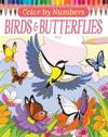 Color by Numbers: Birds and Butterflies