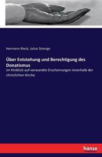 Uber Entstehung Und Berechtigung Des Donatismus