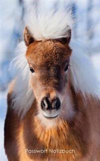 Passwort Notizbuch: Internet-Adresse Und Passwort-Logbuch - Kleines Pony Umschlag