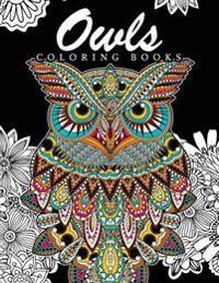 Owls Coloring Books: Jacqueline G. Minks
