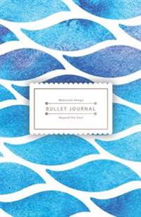 Blue Ocean Bullet Journal: Dotted Grid Journal, 130 Dot Grid Pages, 5.5x8.5, High Inspiring Creative Design Idea
