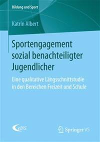 Sportengagement Sozial Benachteiligter Jugendlicher