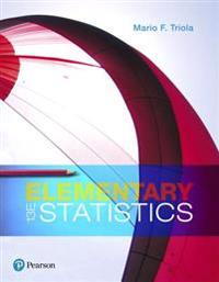 Elementary Statistics Plus Mylab Statistics with Pearson Etext -- Title-Specific Access Card Package