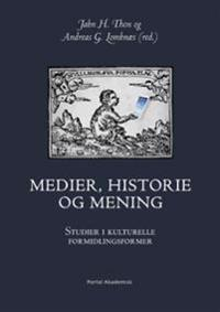 Medier, historie og mening -  pdf epub