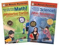 Bilingual Science and Math Mysteries Book Set / Conjunto de Libros Bilingues: Misterios de Ciencias y Matematicas
