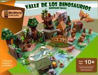 Valle de Los Dinosaurios - Dinosaur Valley: Mini World Create & Play: Assemble Your Own Mini World of Dinosaur Valley, Then Enjoy Many Hours of Play w