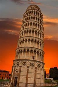 The Leaning Tower of Pisa at Sunset Italy Journal: 150 Page Lined Notebook/Diary