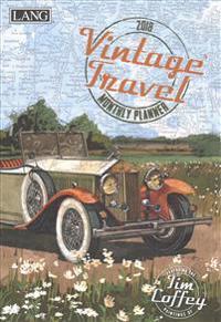 Vintage Travel 2018 Monthly Planner