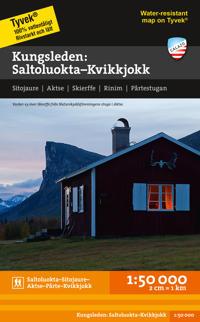 Saltoluokta - Kvikkjokk 1:50.000