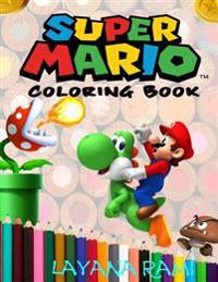 Super Mario Coloring Book: A Great Coloring Book on the Super Mario Characters. Great Starter Book for Young Children Aged 3+. an A4 51 Page Book