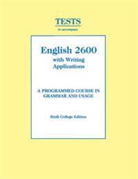Tests - English 2600