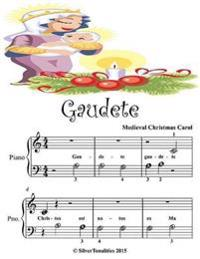 Gaudete - Beginner Tots Piano Sheet Music