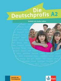 Die Deutschprofis A2. Testheft mit Audios Online