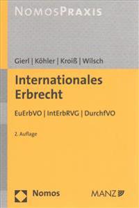Internationales Erbrecht: Euerbvo - Interbrvg
