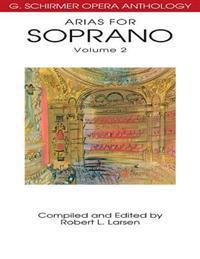 Arias for Soprano, Volume 2