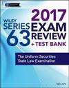 Wiley FINRA Series 63 Exam Review 2017
