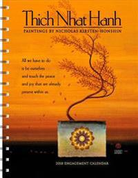 Thich Nhat Hanh 2018 Engagement Calendar: Paintings by Nicholas Kirsten-Honshin