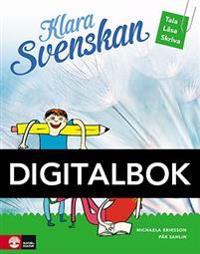 Klara svenskan åk 4 Elevbok Tala, läsa, skriva Dig