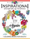 Inspirational Powerful Two Words Phrases: A Coloring Book for Adults