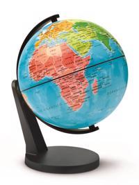 Jordglob Gyro Kontinent 11cm - Jordglob 11cm