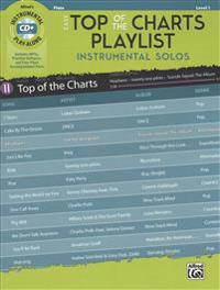 Easy Top of the Charts Playlist Instrumental Solos: Flute, Book & CD