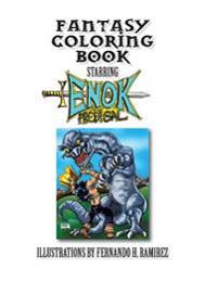 Fantasy Coloring Book Starring Enok the Prodigal