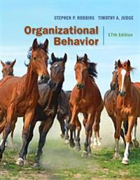 Organizational Behavior Plus 2017 Mylab Management with Pearson Etext -- Access Card Package