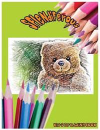 Splendiferous: Kid's Drawing Book: Large 8.5 X 11 Blank, White, Unlined,60 Pages Freely to Write, Sketch, Draw and Paint ( Splendid B
